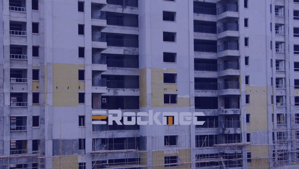rock wool board use in buildings